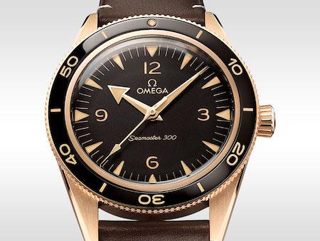 OMEGA Seamaster 300 Bronze Gold