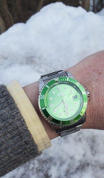 Winner Automatic Watch snow kidding