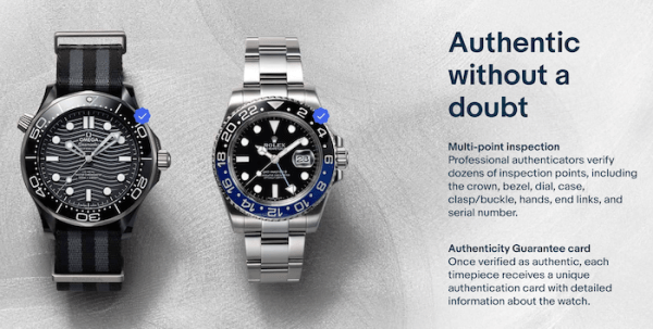 EBay watch sales - authenticity guarantee