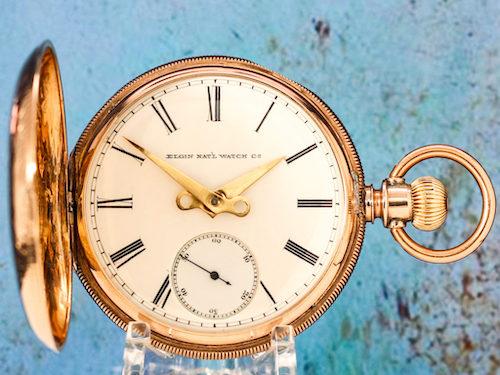 Elgin gold watch