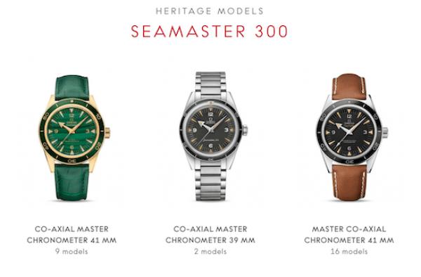 OMEGA Seamaster selection