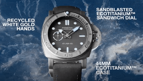 Panerai Submersible eLAB-ID from video
