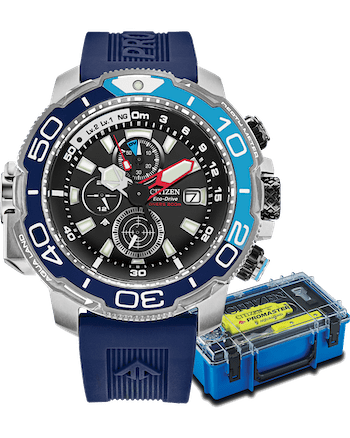 Promaster Aqualand blue dial