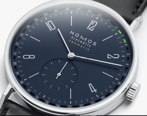 Really close - NOMOS Tangente Date 41