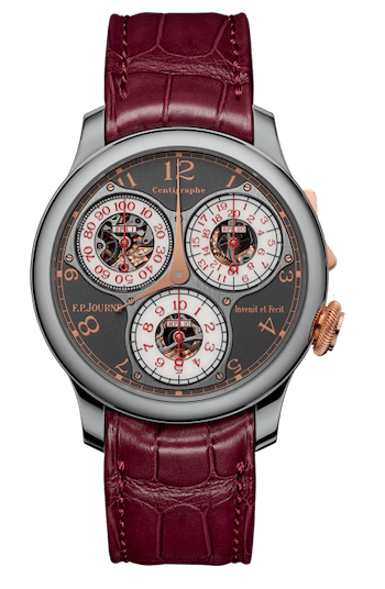 Million dollar watches - F.P. Journe Centigraphe Anniversaire