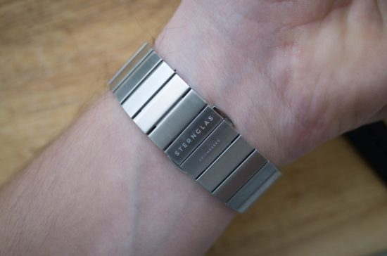 Metal bracelet of the Sternglas Marus