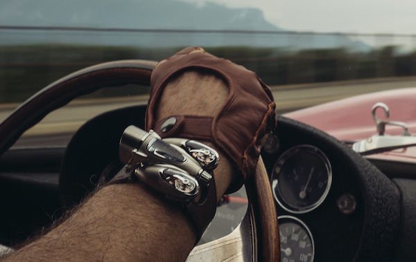 strange watches - MB&F HM9 Road-Edition
