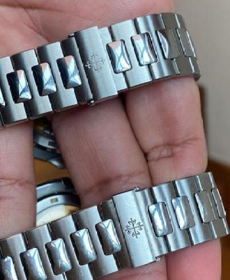 Watch swap scam - bracelet comparo