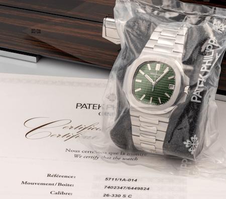 Patek Philippe Nautilus Green Dial v2