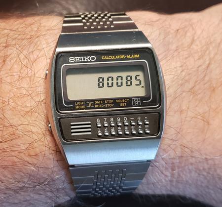 Seiko C359-5000 on wrist