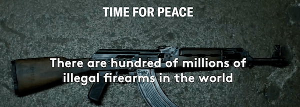 TRIWA Time for Peace hundred of millions