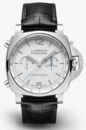 Luminor Chrono white dial