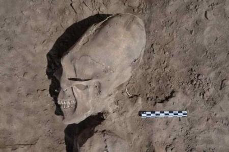 Nephilim Crânio México - Foto de Cristina Garcia Moreno INAH