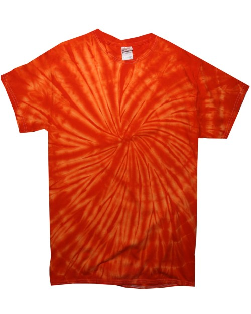 Colortone Short Sleeve Spiral Tie-Dye T-Shirt