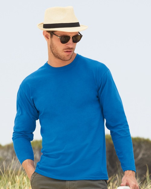 Fruit Of The Loom Men's Long Sleeve Valueweight T-Shirt