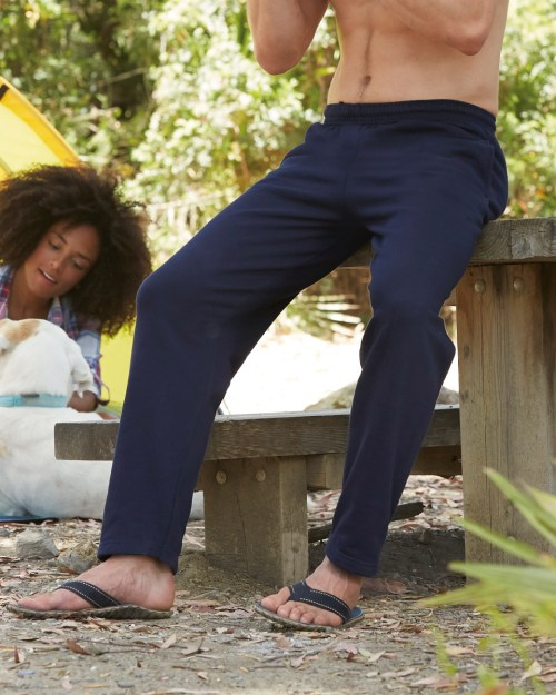 Fruit Of The Loom Men's Classic Open Hem Jog Pants