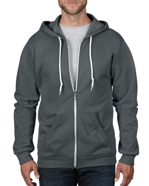 Anvil Adult Full Zip Hooded Sweatshirt