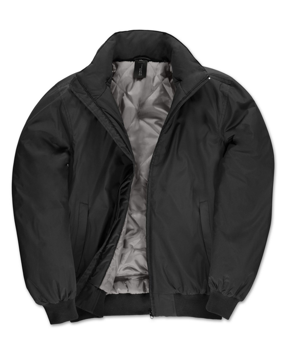 B and C Men's Crew Bomber Jacket