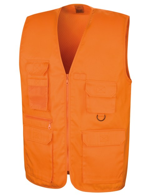 WORK-GUARD by Result Safari Waistcoat