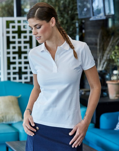 Tee Jays Ladies' Heavy Polo
