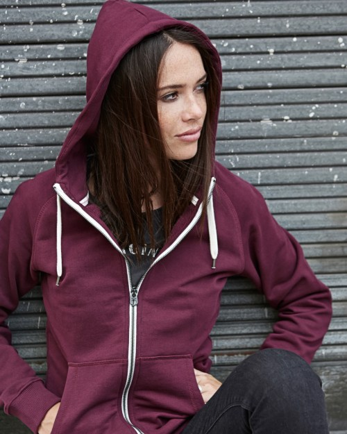 Tee Jays Ladies' Urban Zip Hoodie