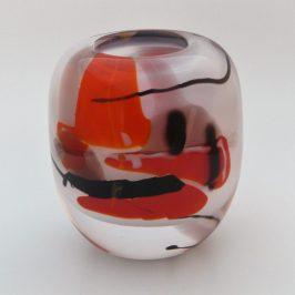 Opalin White & Red