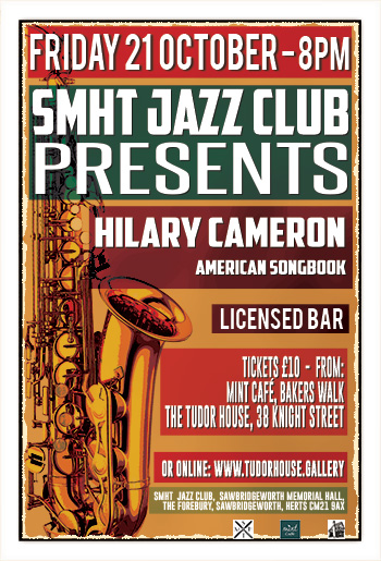 SMHT Jazz Club - Hilary Cameron - American Songbook