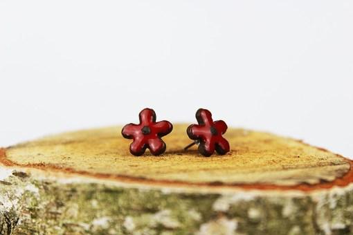 Flower Ceramic Earrings