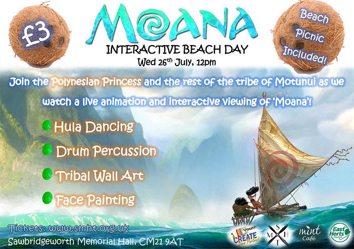 Moana - Interactive Beach Day