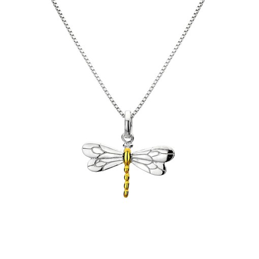 Handmade Sterling Silver Dragonfly Necklace