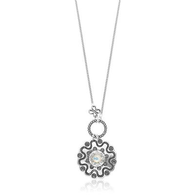 Charm long necklace