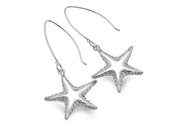 Handmade Starfish Earrings