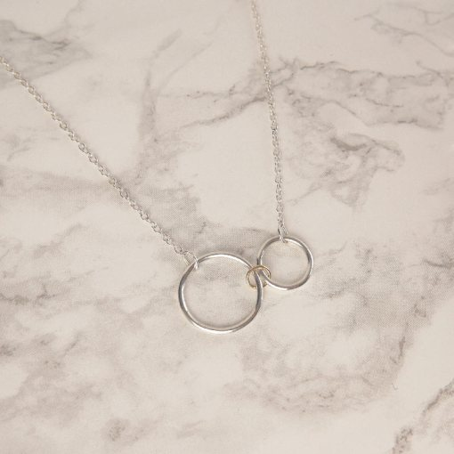Triple Hoop Necklace