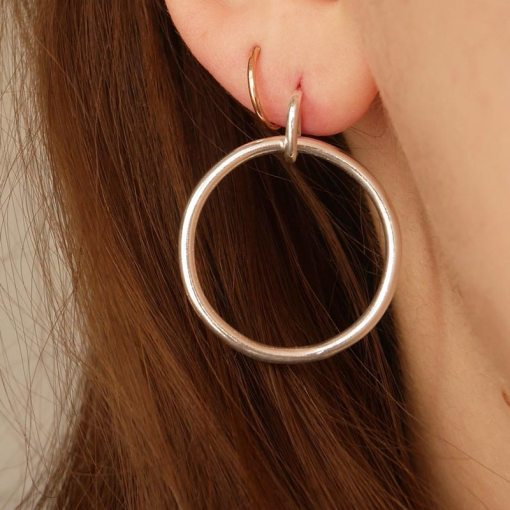 Chunky Circle 'Hoops'