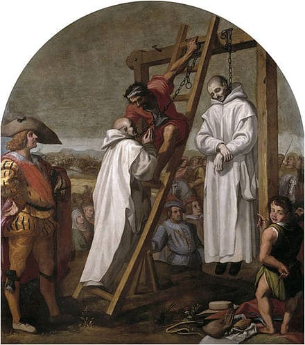The prior of the Charterhouse is hanged at Tyburn