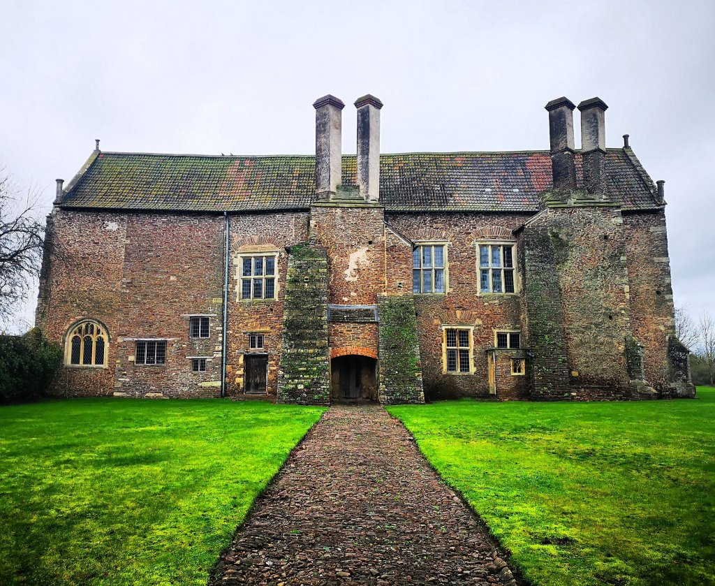 Acton Court in Gloucestershire. the east range