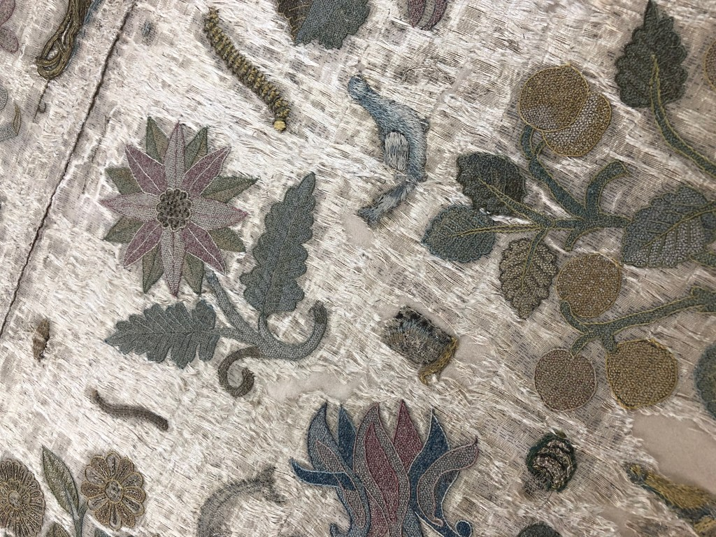 A fragment of the Bacton Altar Cloth, the lost dress of Elizabeth I