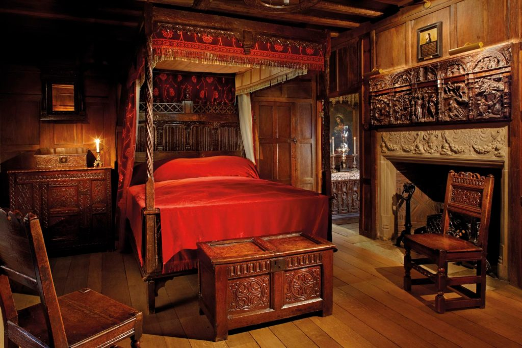 The Waldegrave Room at Hever Castle