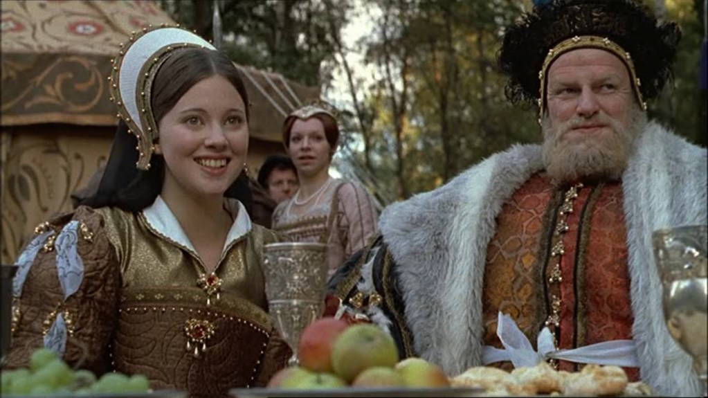 Henry VIII and Catherine Howard from The Six Wives of Henry VIII