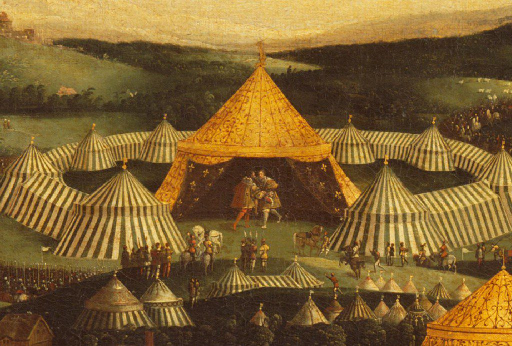 The Field of Cloth of Gold: 500 on the Tudor Travel Guide's Tudor Events in 2020.