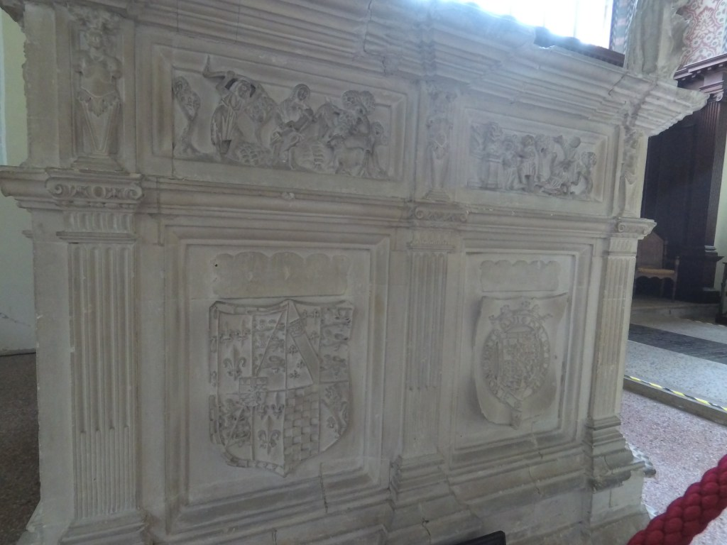 Close up of the of the Howard tombs at Framlingham - that of the Duke of Richmond