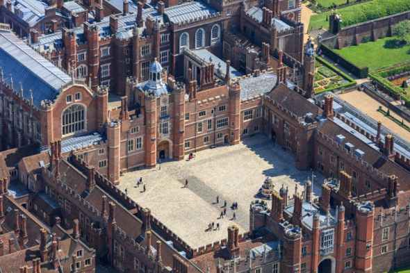 Base Court: one of the 9 Key Features of a Tudor Palace