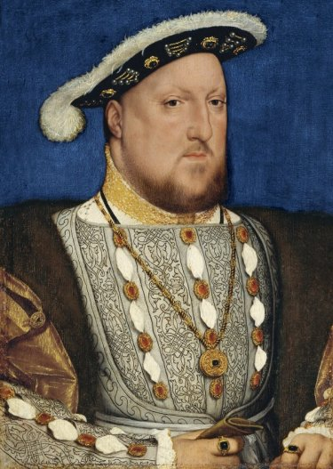 Portrait of King Henry VIII, buried at Windsor Castle