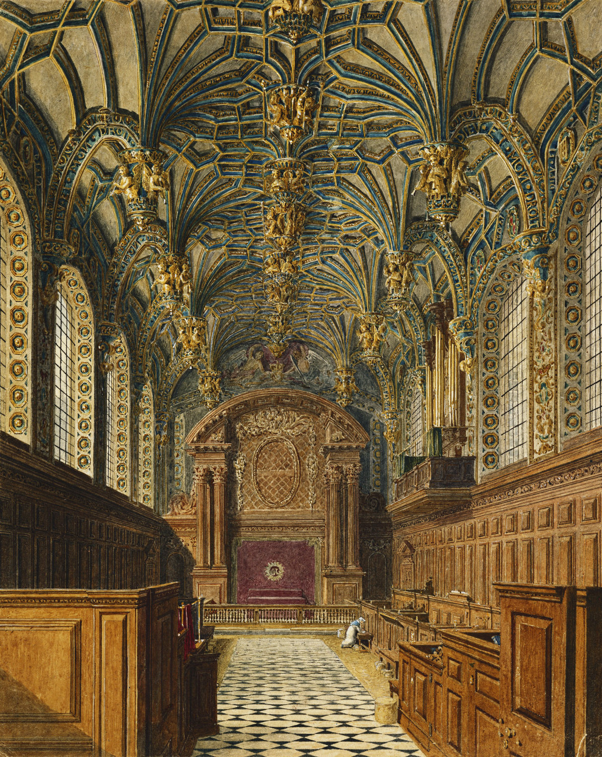 An example of a Tudor Chapel Royal (Hampton Court)