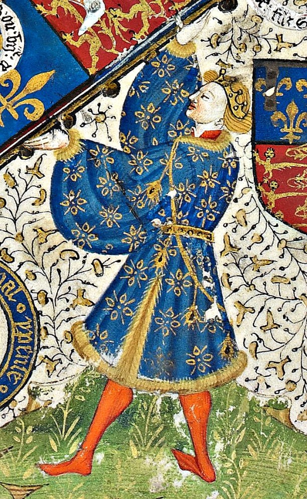 Richard of York from the Talbot Shrewsbury Book