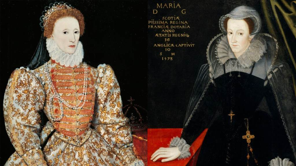 Elizabeth I of England and Mary, Queen of Scots