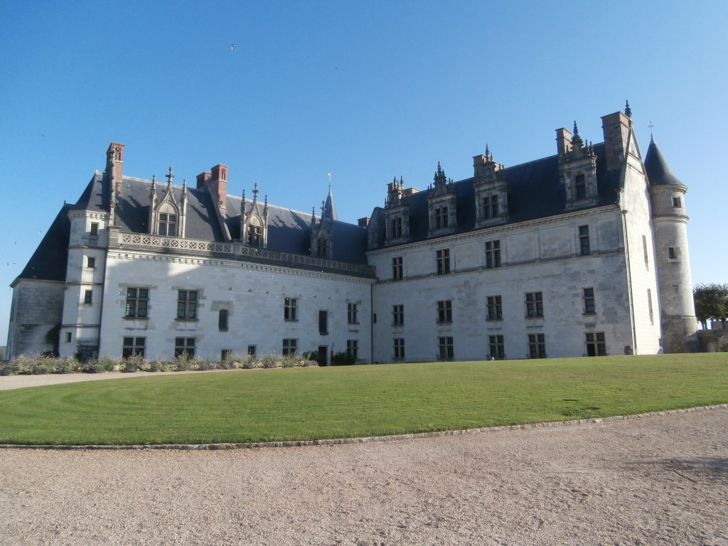Image of the Chateau D'Amboise one of the best Anne Boleyn locations in France