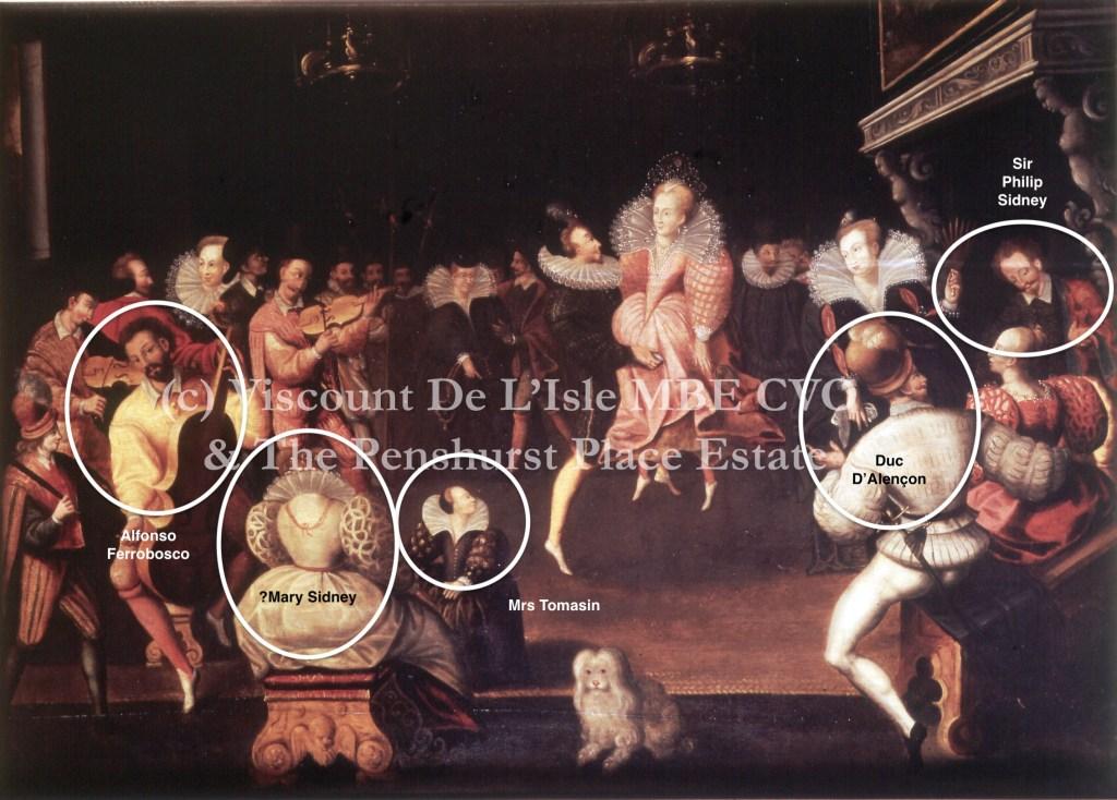 Elizabeth I dances La Volta