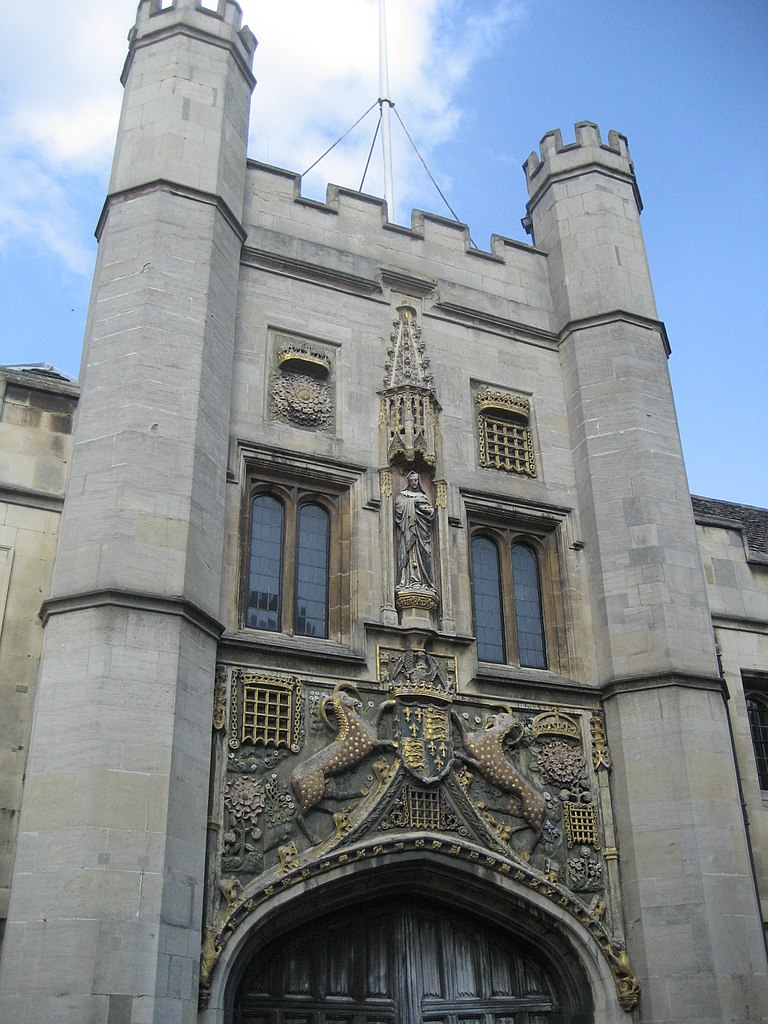 Christ's College Gatehouse, Cambridge: a college founded by Margaret Beaufort.