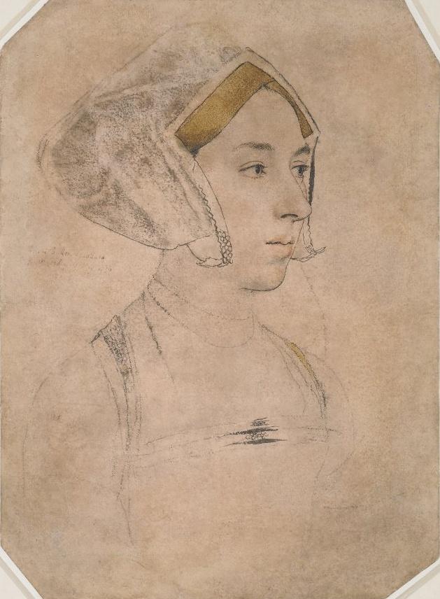 Anne Boleyn by Holbein